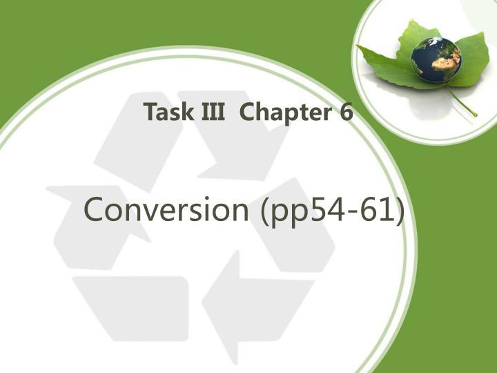 Task III  Chapter 6
