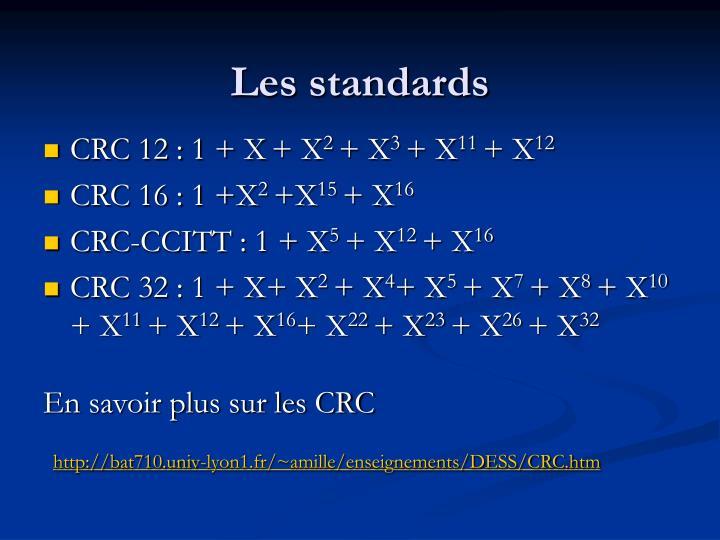 Les standards