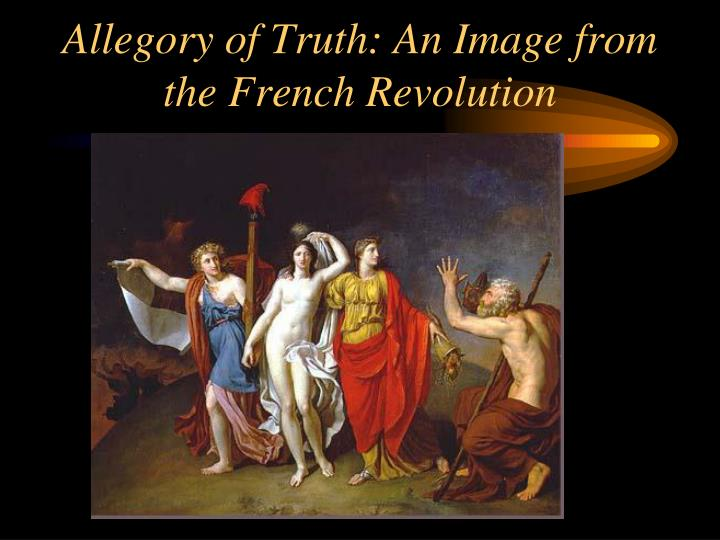 Allegory of Truth: An Image from the French Revolution