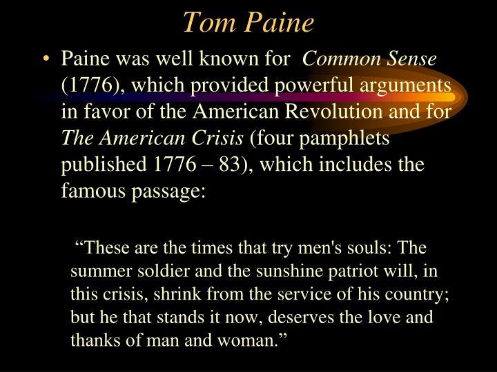 Tom Paine