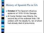 history of spanish flu in ga1