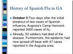 history of spanish flu in ga2