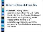 history of spanish flu in ga3