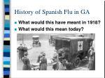 history of spanish flu in ga4
