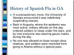 history of spanish flu in ga6