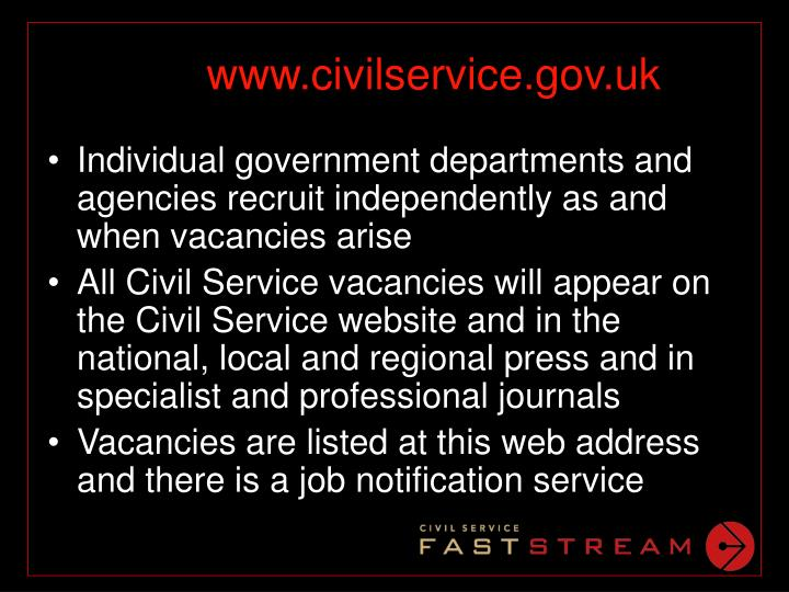 www.civilservice.gov.uk
