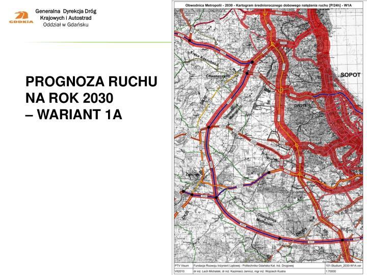 Prognoza ruchu na rok 2030