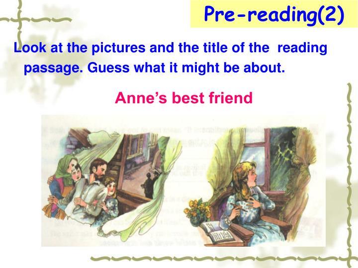 Pre-reading(2)