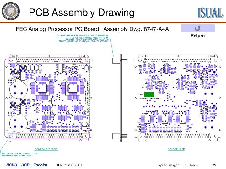 PCB Assembly Drawing
