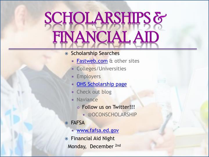 Scholarships &