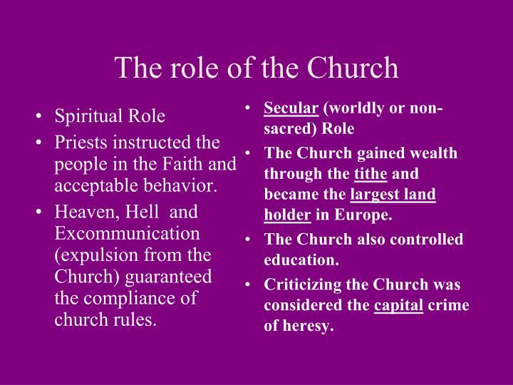 Spiritual Role