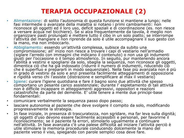 TERAPIA OCCUPAZIONALE (2)