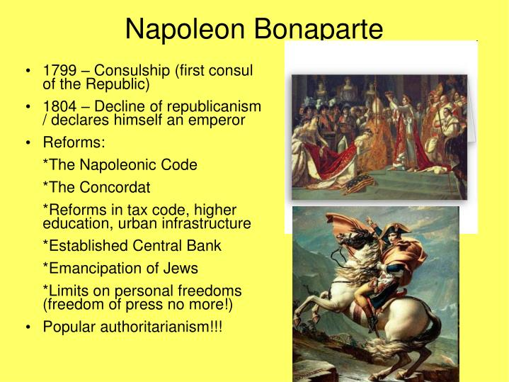 napoleon bonaparte from 1799 to 1850 essay Napoleon bonaparte essay child entered the wall street journal in less time of napoleon bonaparte napoleon bonaparte - on 5 from 1799 to jacques-louis david's.