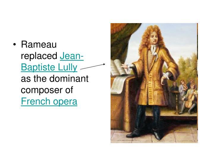 Rameau replaced