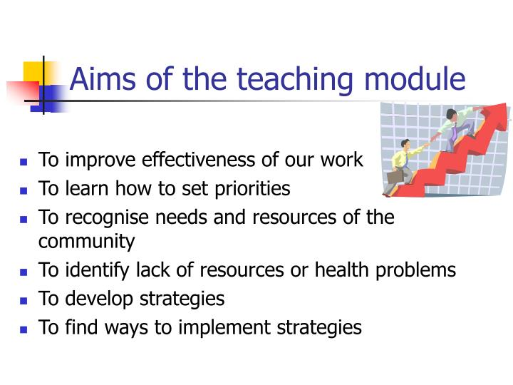 Aims of the teaching module
