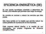 eficiencia energ tica ee