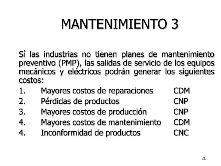 MANTENIMIENTO 3