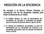 medici n de la eficiencia