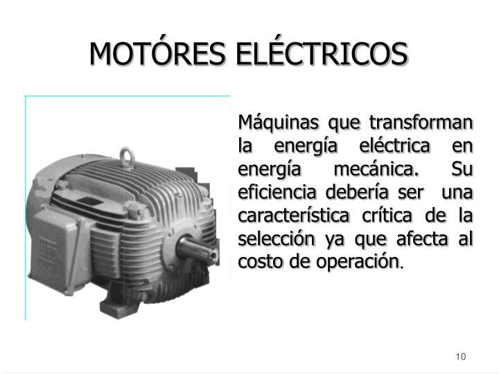 MOTÓRES ELÉCTRICOS