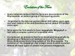 evolution of the fern