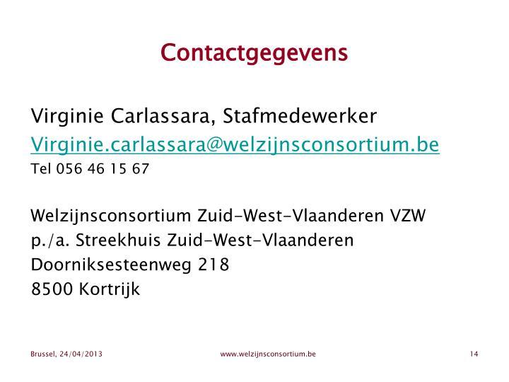 Contactgegevens