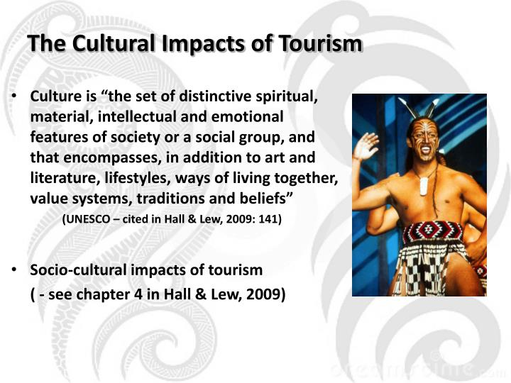 The cultural impacts of tourism