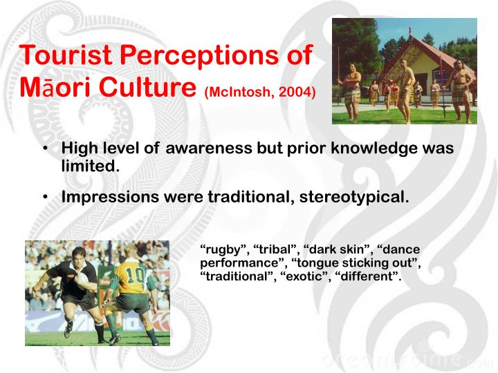 Tourist Perceptions of Māori Culture