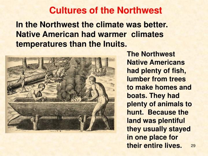 Cultures of the Northwest