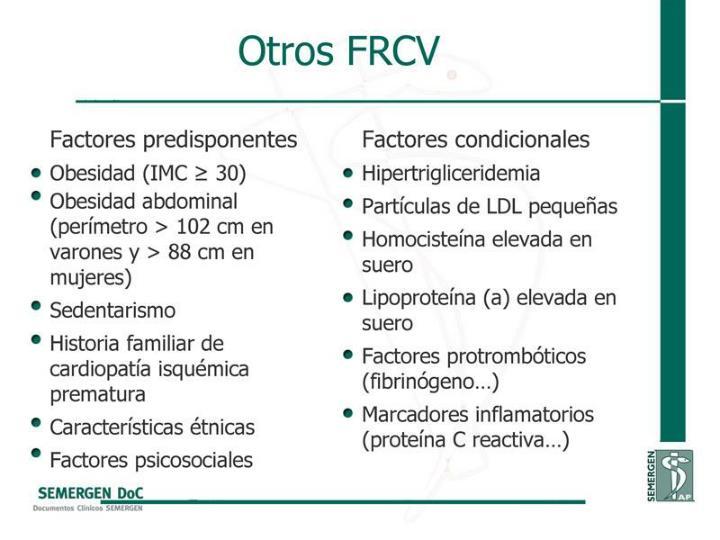 Otros FRCV