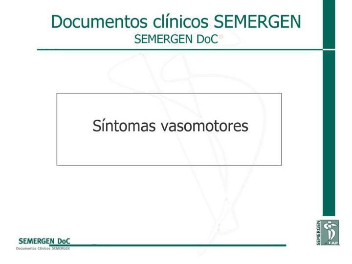 Síntomas vasomotores