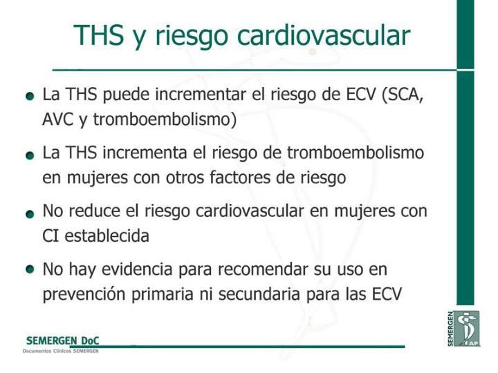 THS y riesgo cardiovascular
