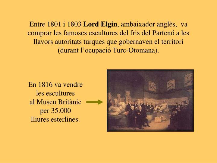 Entre 1801 i 1803