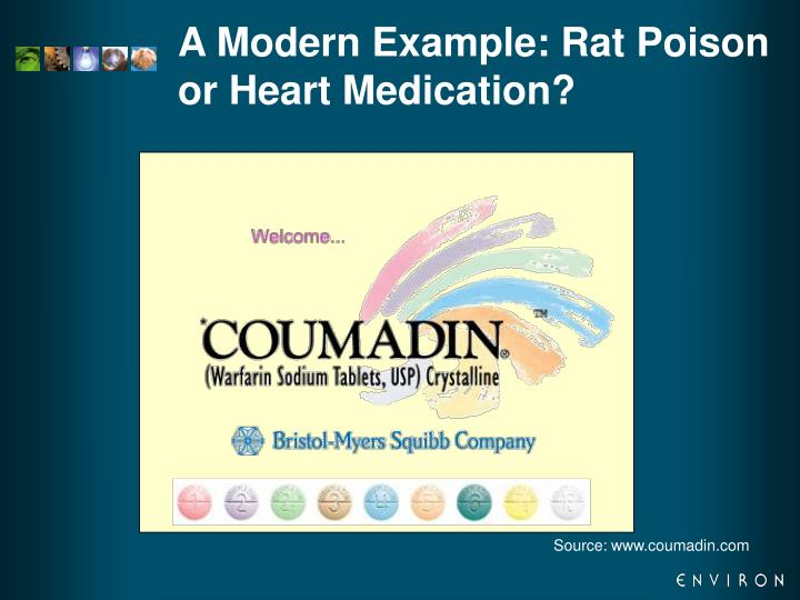 A Modern Example: Rat Poison or Heart Medication?