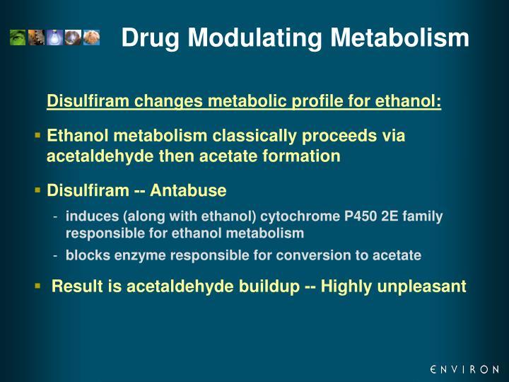 Drug Modulating Metabolism