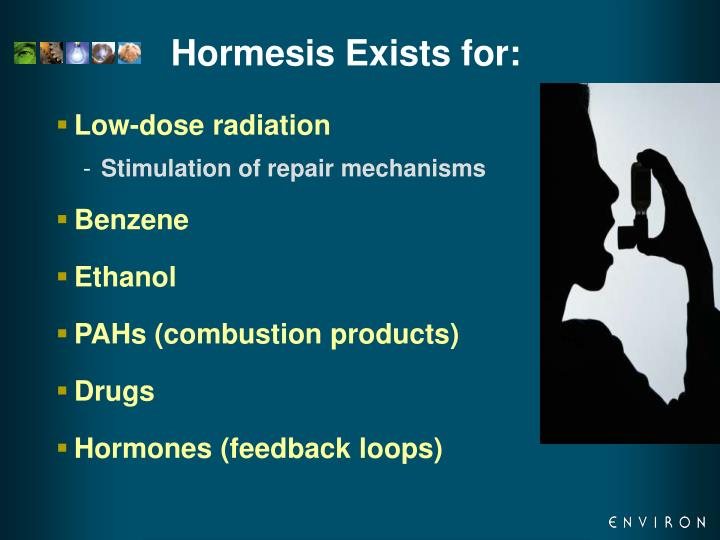 Hormesis Exists for: