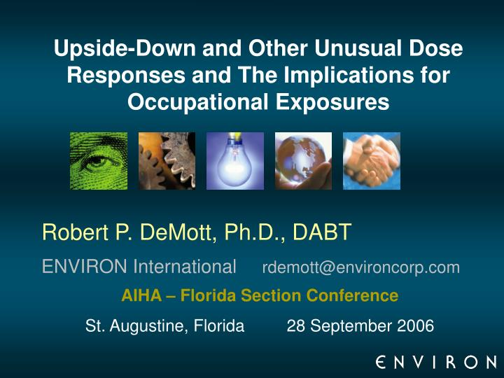 Upside down and other unusual dose responses and the implications for occupational exposures