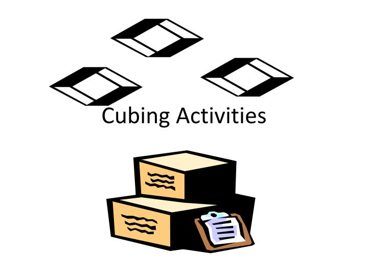 Cubing Activities