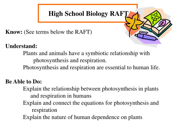 High School Biology RAFT