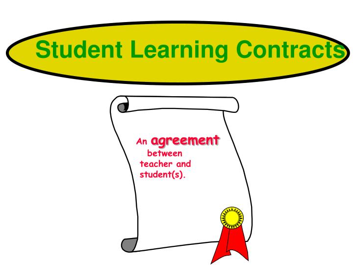 Student Learning Contracts