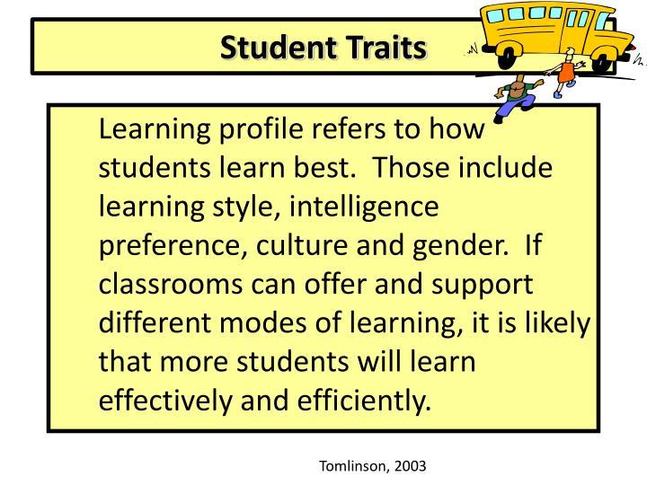Student Traits