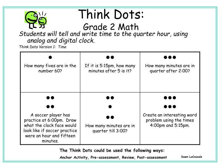 Think Dots: