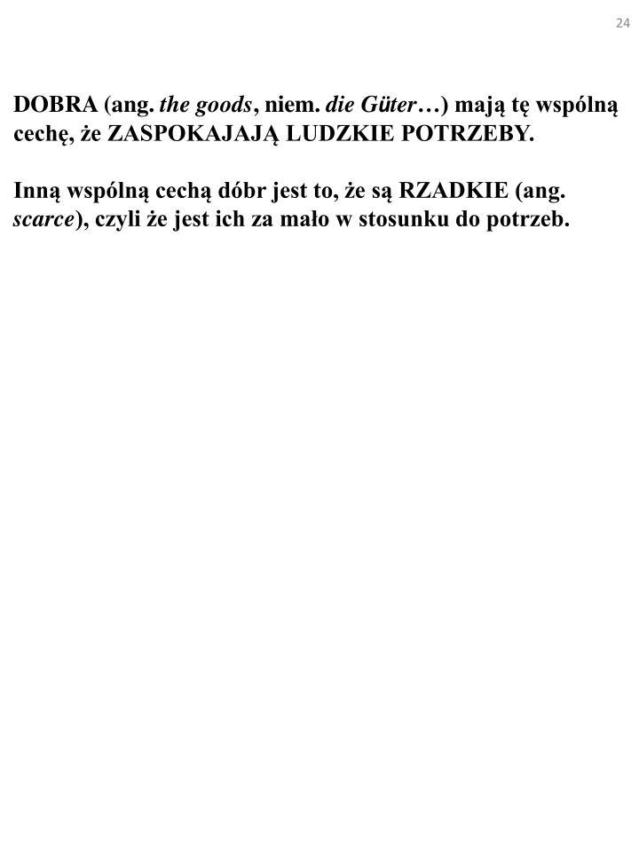 DOBRA (ang.