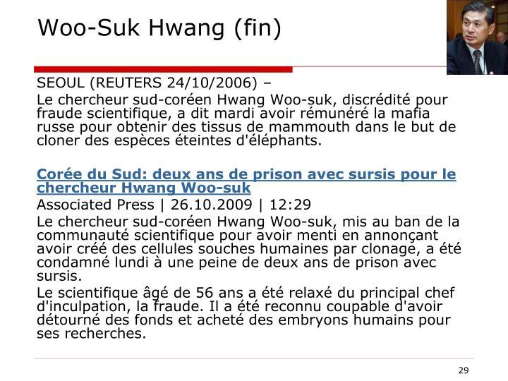 Woo-Suk Hwang (fin)
