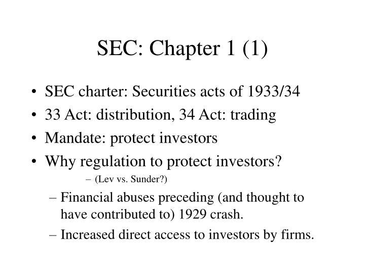 SEC: Chapter 1 (1)