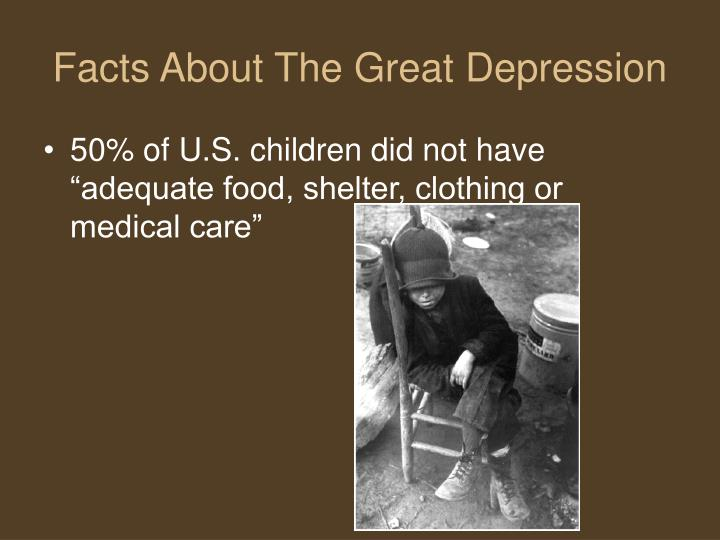 information about the great depression