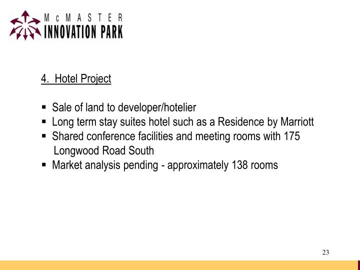 4.  Hotel Project