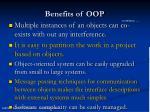 benefits of oop1