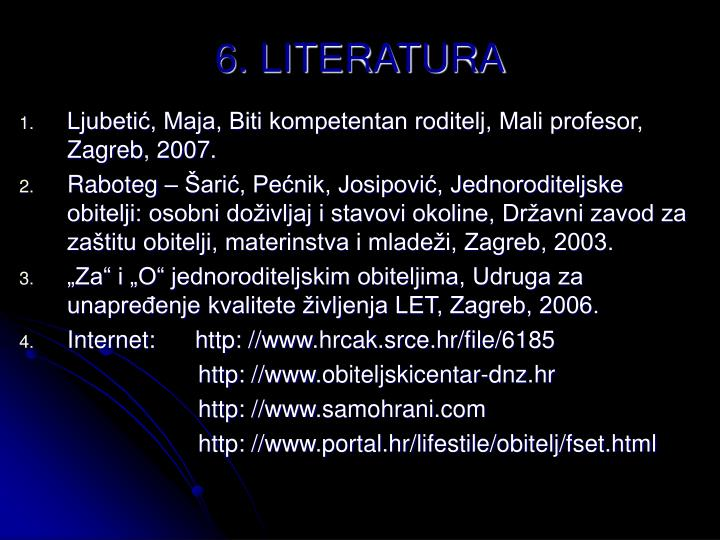 6. LITERATURA