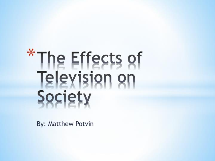 the effects of television on the Objectiveto test the independent effects of television viewing in children before  age 3 years and at ages 3 to 5 years on several measures of cognitive.