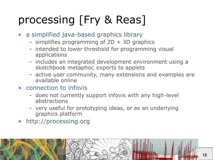 processing [Fry & Reas]
